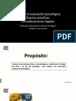 4.- Ética en la evaluación psicológica, buenas prácticas y consideraciones legales 2020.pptx