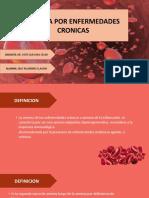 anemia por enfermedades cronicas