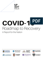 Group of Eight's Roadmap to Recovery report