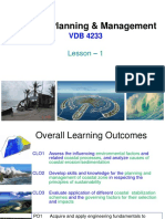 Coastal Planning Management Lesson1-Overview