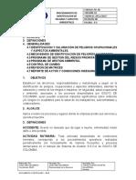procedimiento de peligro y aspectos ambientales 14