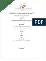 ANALISIS DEL CONSUMIDOR PERUANO -PIURANO