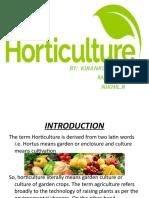 Horticulture by madan,kiran,Nikhil.pptx