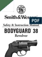 S&W BodyGuard 38 Revolver Manual 07-22-10