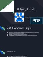 helping hands presentation