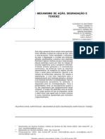 PESTICIDAS-MECANISMO DE AÇÃO  DEGRADAÇÃO E TOXIDEZ