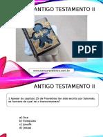 ANTIGO TESTAMENTO II.pptx