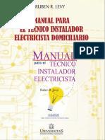 Manual para el técnico instalador, electricista domiciliario.pdf