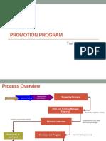 Promotion Program Process