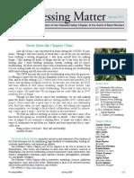 DVC-GBW Spring 2020 Newsletter