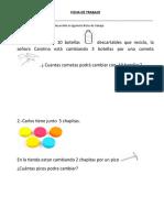 Ficha Matematica Canjes