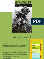 Ewaste and the Bill