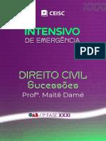 Direito Civil - Sucessões