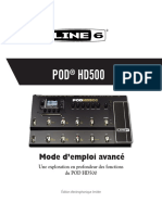 POD HD500 Advanced Guide v2.0 - French ( Rev A )