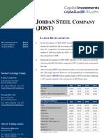 JOST Brokerage Report Update 4th of May 2009