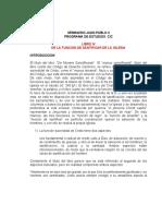 LIBRO IV DE LA FUNCION DE SANTIFICAR DE LA IGLESIA