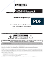 Relay TBP12 Transmitter Pilot's Guide - French ( Rev J )