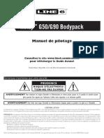 Relay TBP12 Transmitter Pilot's Guide - French ( Rev J )