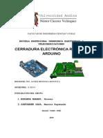 61. INFORME DE CERRADURA ELECTRONICA..pdf