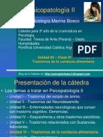 PresentaciónU03_Clase 01_PsicopatoII_Trast.Cond.Alimentaria_Lic.M.Bosco_2016 (1)