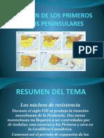 EL ORIGEN DE LOS PRIMEROS REINOS PENINSULARES