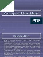 Pengajaran Mikro-Makro