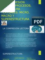 sesion 5 COMPRESION LECTORA micro macro y superestructura