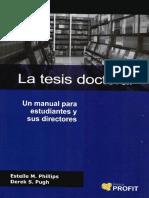 La tesis doctoral.pdf