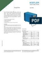 ACC 4603B Piezoresistive Amplifier