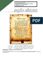 apostila credo