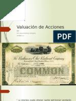 Valuación de Acciones unidad 2.3
