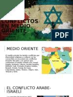Los conflictos en medio oriente