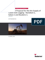 Technical Proposal for the the Supply of Cased Hole Logging - Ramdiani-1, Sukan-1 and Baudero-1..pdf