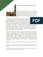 Biografia de Amadeo de Souza
