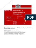 006-Training-Manual-Human-Resources-Management