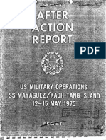 After Action Report SS Mayaguez Part I