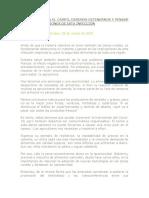 Clase 7. CORONAVIRUS EN EL CAMPO, DEBEMOS DETENERNOS Y PENSAR EN LAS IMPLICACIONES DE ESTA INFECCIÓN