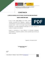 CONSTANCIA DE NOTAS - EJEMPLO
