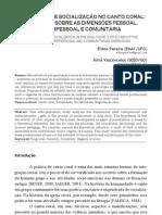 (Musica Hodie) O processo de socialização no canto coral um estudo sobre as dimensões pessoal, interpessoal e comunitária