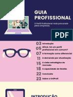 GUIA PROFISSIONAL - 4 habilidades essenciais para o mercado de trabalho.