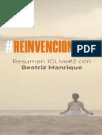 Resumen+IG+Live+Reinvencion2020+Beatriz+Manrique