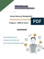 HRM Assignment 01-322191-014.pdf