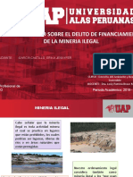 Financiamiento de la mineria ilegal