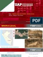 Minería Ilegal en La Pampa Madre de Dios
