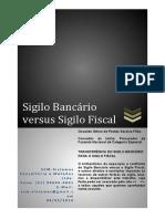 Sigilo Bancário versus Sigilo Fiscal - Autoria Procurador da Republica.pdf