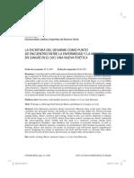 Oreja, Nerea, La escritura del desarme como punto de encuentro entre la enfermedad y la memoria en Sangre en el ojo Una nueva poetica.pdf