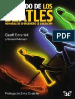 GEOFF EMERICK-EL SONIDO DE LOS BEATLES