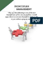 Principles of Mangement MG2351