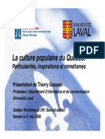 Quebec Culture