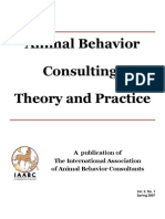 Animal Behavior Consulting